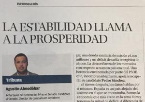 Tribuna Agustín Almodóbar Diario INFORMACIÓN de Alicante