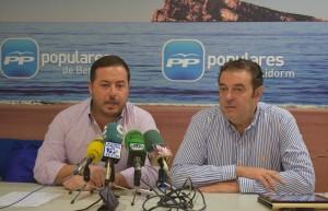 Rueda de Prensa Agustin Almodobar y Camps