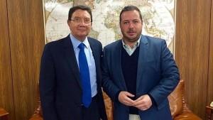 Agustín Almodóbar y Taleb Rifai