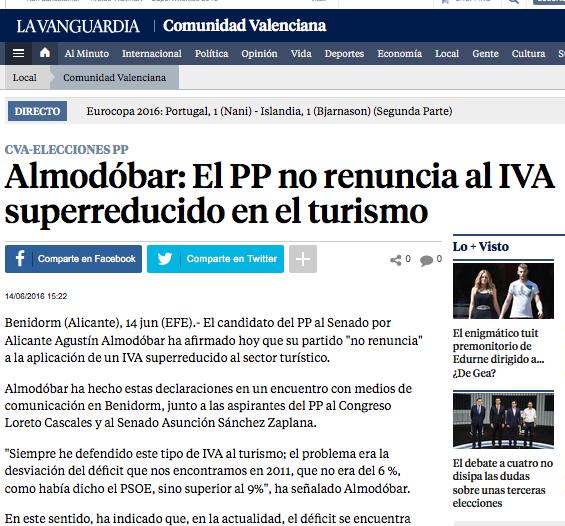 La Vanguardia Invattur