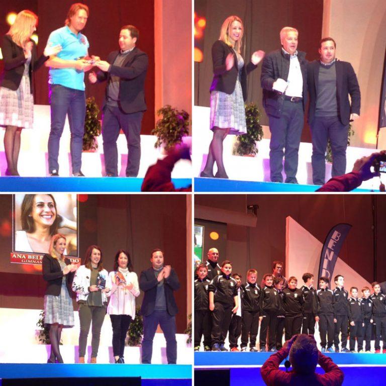 El político de Benidorm Agustín Almodóbar, senador por Alicante, en la V Gala del Deporte