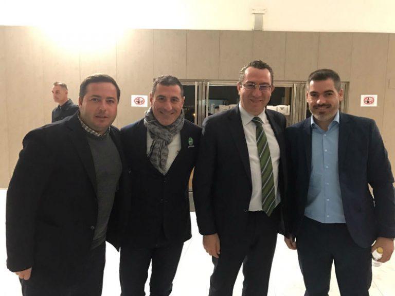 El político de Benidorm Agustín Almodóbar, en la gala del deporte de Benidorm