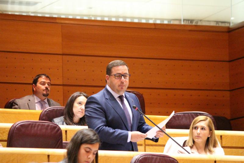 Intervención de Agustín Almodóbar en el Senado